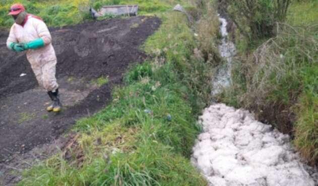 Daño en tubo de lixiviados en Doña Juana