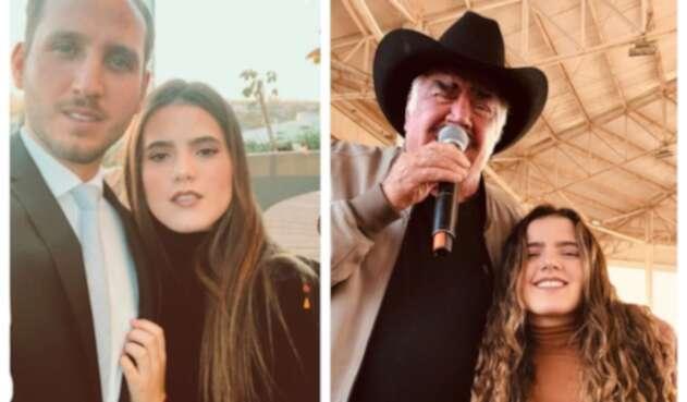 Camila Fernández, hija de Alejandro Fernández