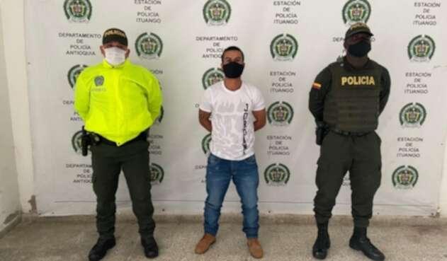Captura de alias 'Boro', presunto jefe de sicarios del 'Clan del Golfo'