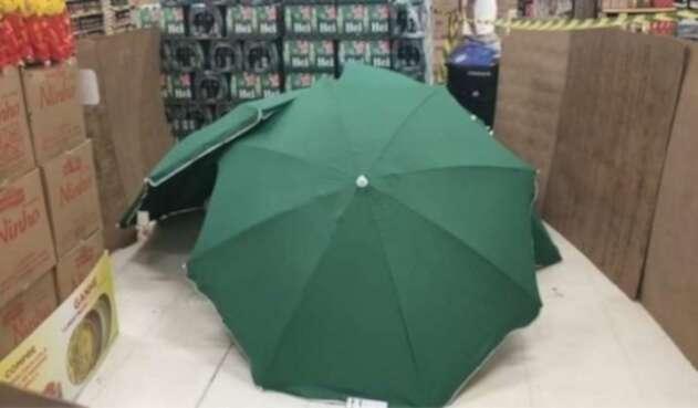 Carrefour en Brasil - Cadáver