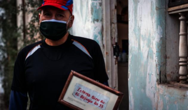 33 mineros chilenos del derrumbe de Atacama