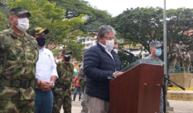 Consejo de seguridad en Andes, Antioquia