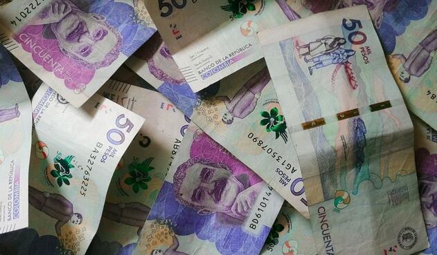Billetes colombianos - dinero