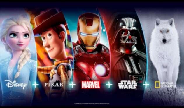 Disney+, plataforma de streaming