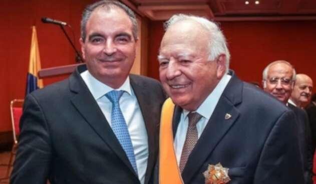 Aurelio Iragorri hijo y Aurelio Iragorri papá