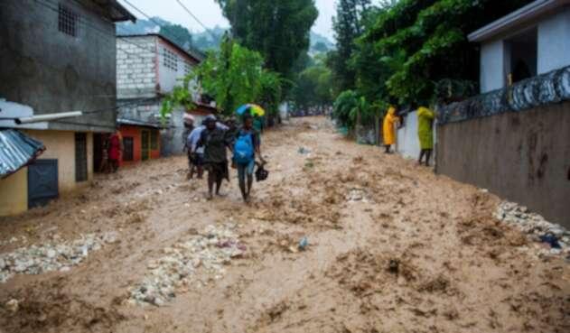 Haití - Tormenta Laura