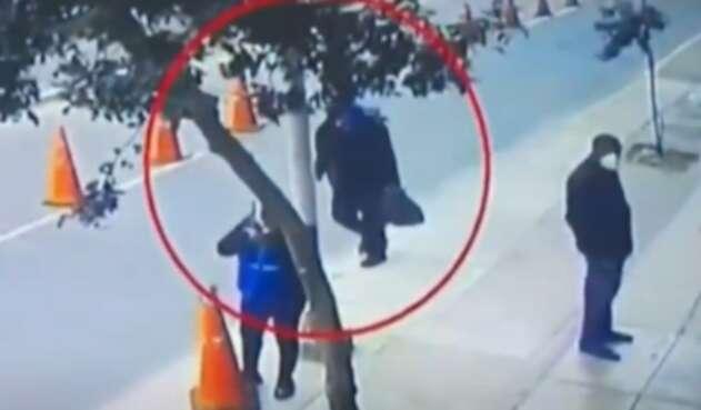 Accidente en Lima, Perú