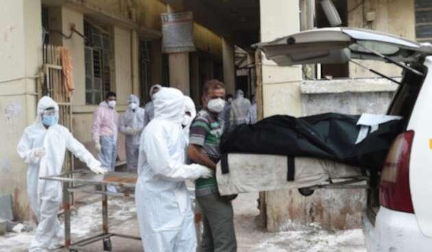 Incendio de hospital en India en plena pandemia