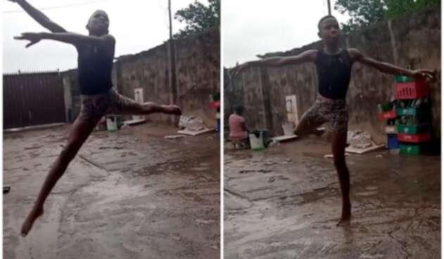 Joven bailarín nigeriano recibe beca para estudiar ballet en New York