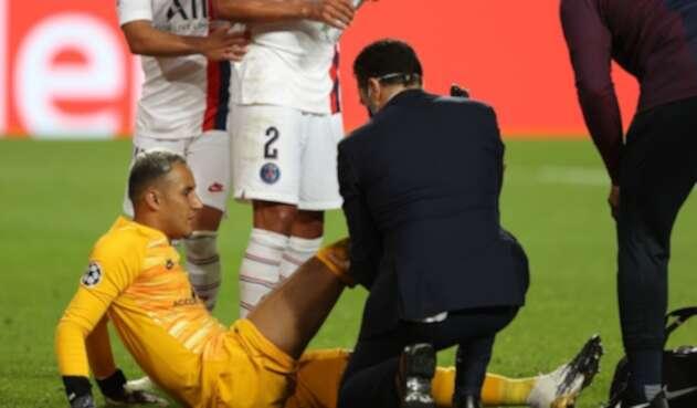 Keylor Navas será baja en PSG en semifinal de Champions ante Leipzig