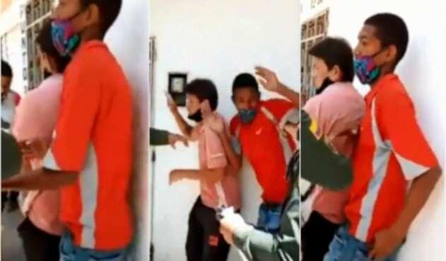 Ladrón venezolano le roba el celular a policía que evitada en linchamiento