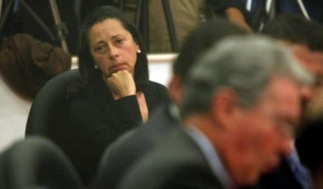 Lina María Moreno de Uribe y Álvaro Uribe