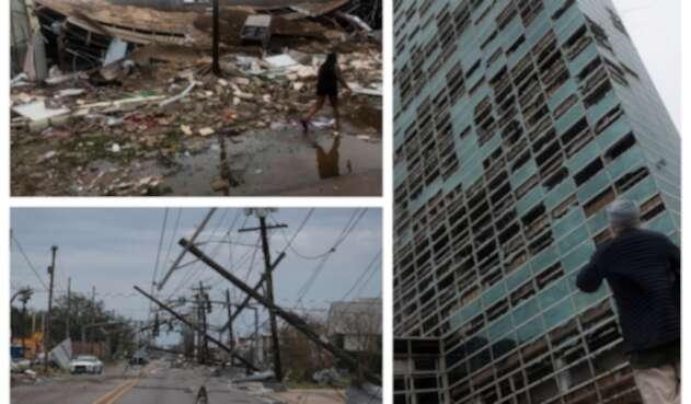 Huracán Laura en Estados Unidos - Luisiana