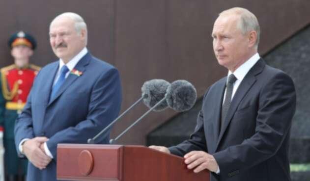 Putin y Lukashenko