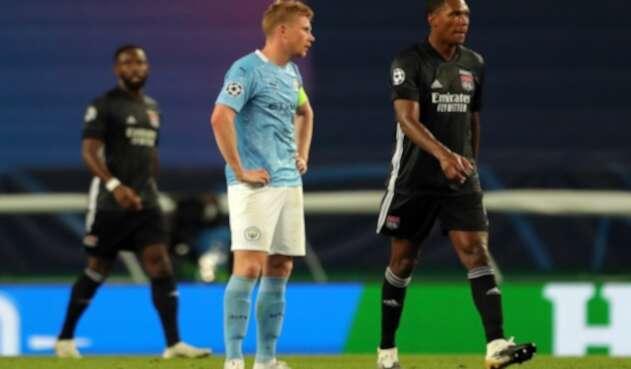 Lyon dio la sorpresa y elimina al Manchester City