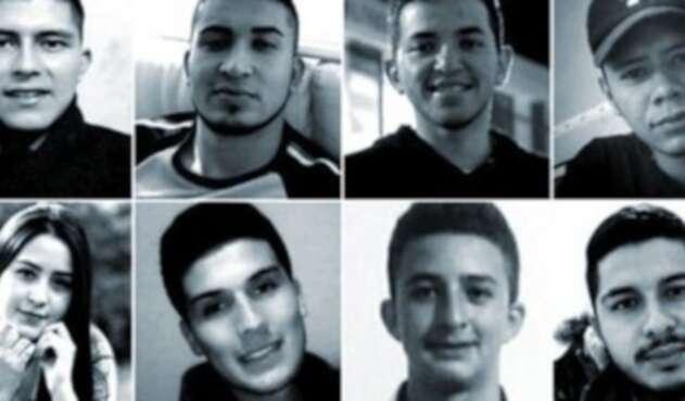 Estos son los rostros de algunas de las víctimas de las masacres que se han registrado en el último año en Colombia