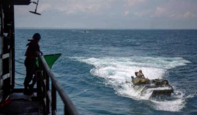 Accidente marine EE.UU.