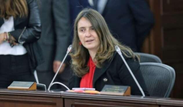 Paloma Valencia, senadora del Centro Democrático