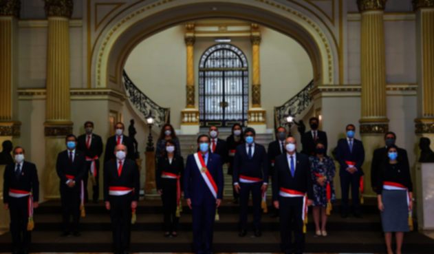 Gabinete de ministros de Perú