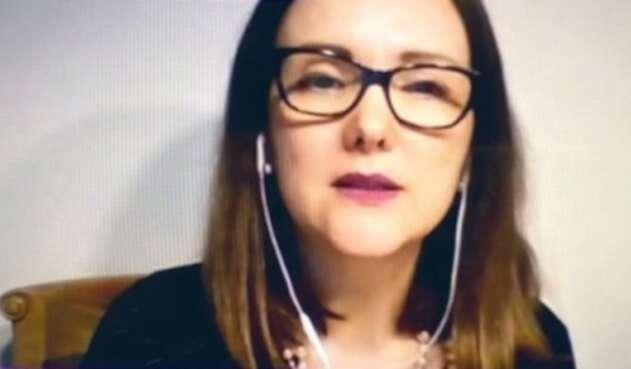 Piedad Patricia Restrepo Restrepo, vocera de la veeduría 'Todos por Medellín'