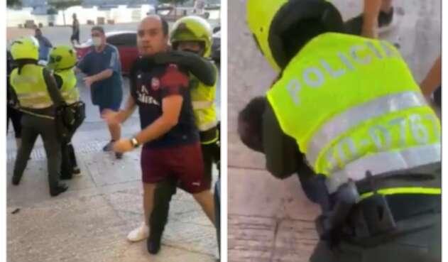 Agresión de policías a hijos de congresista Alonso Del Río