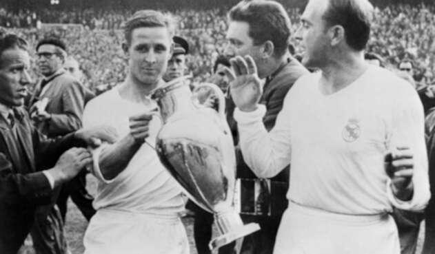 Real Madrid, cinco veces campeón de la Copa de Europa en los años 50