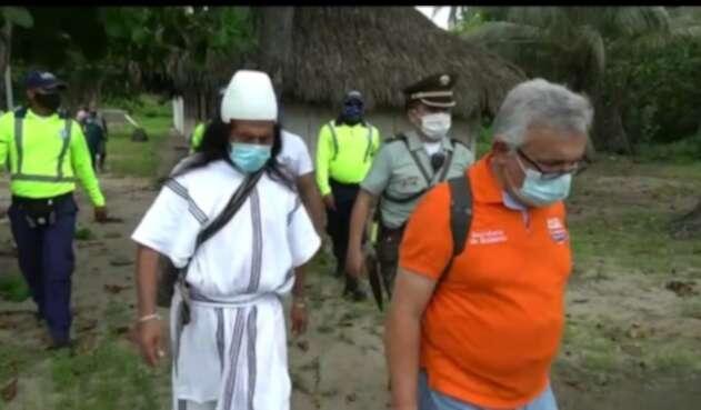Autoridades indígenas, campesinos, organizaciones y autoridades locales piden presencia del presidente Duque para dar solución al conflicto