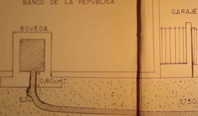 Robo del Banco de la República en Pasto