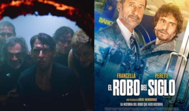 El robo del siglo: serie y película