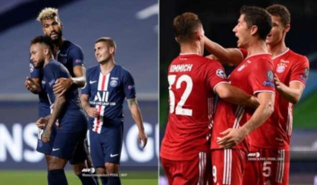 PSG vs Bayern Munich, Champions League