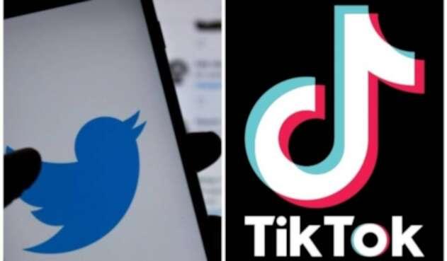 Twitter y TikTok