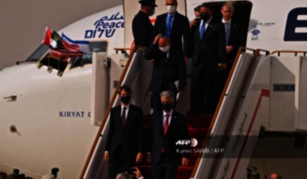Primer vuelo comercial entre Israel y Emiratos Árabes Unidos