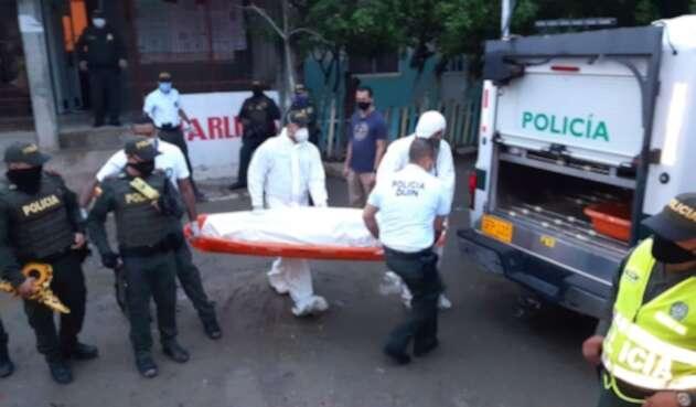 abatido delincuente en Cartagena