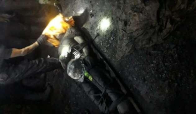Mineros, muertos, Coscuez, Boyacá, accidente