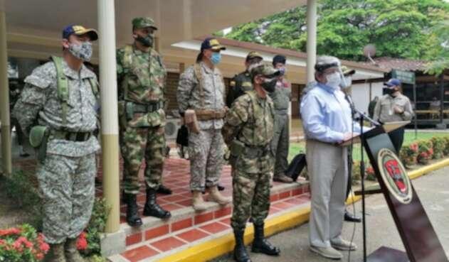 Arauca, consejo, seguridad, ministro, Defensa