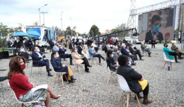 Acto de perdón de las Farc a las víctimas, en Bogotá