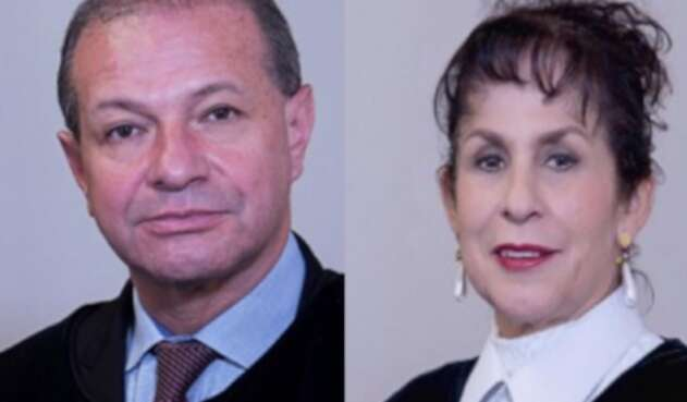 Pedro Alonso Sanabria y Julia Emma Garzón