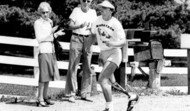 Terry Fox, atleta y activista canadiense