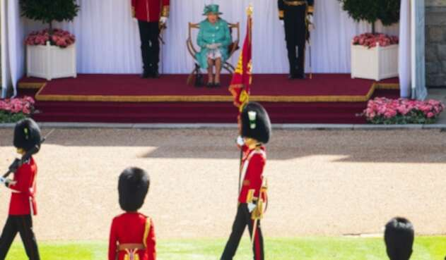 Guardias del castillo de Windsor