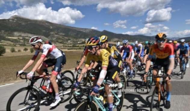 Primoz Roglic en el Tour de Francia 2020
