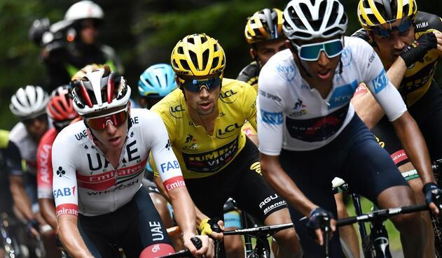 Primoz Roglic, Egan Bernal, Tour de Francia