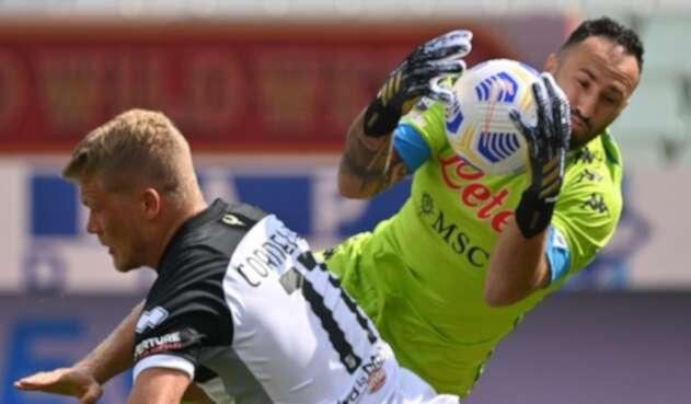 David Ospina, Napoli, Serie A