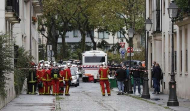 Ataque cerca a Charlie Hebdo