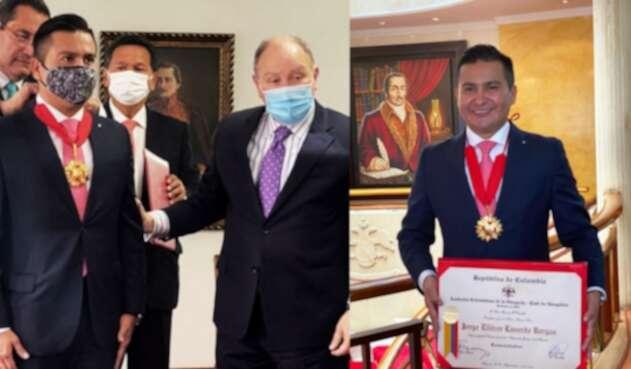 Caldas tiene hoy a uno de los mejores abogados del país, condecorado por la Academia Colombiana de Abogacía.