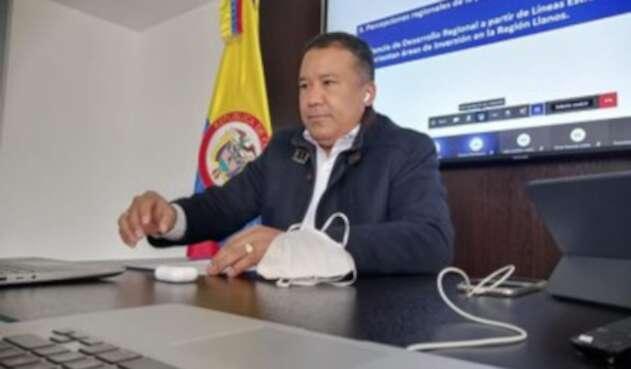 Gobernador de Arauca positivo para COVID-19