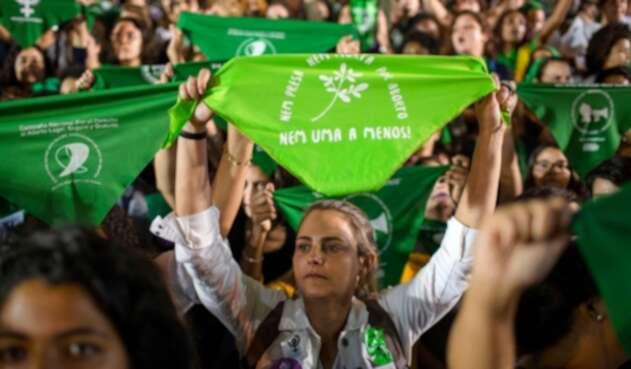 movilizaciones a favor de la legalización del aborto en Brasil