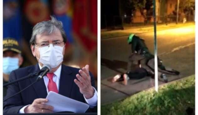 Carlos Holmes Trujillo sobre muerte de Javier Ordóñez