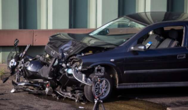 Accidente de tránsito en Alemania