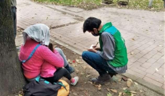 Niñas y niños rescatadas de abandono y negligencia en Bogotá