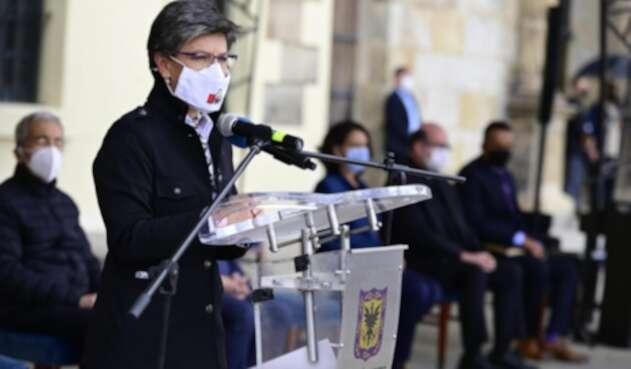 Alcaldesa Claudia López